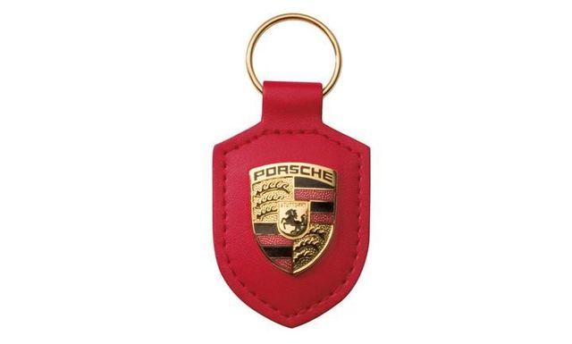 KEY TAG CREST RED - Porsche (WAP-050-092-0E)