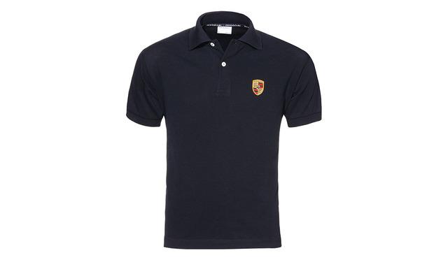 Polo Shirt Crest Black - Porsche (WAP-592-3XL-0B)