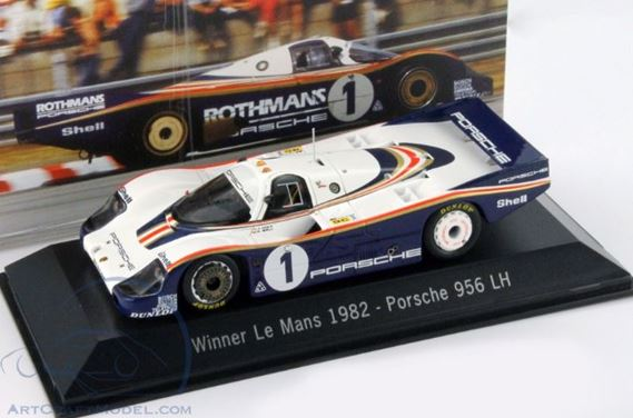 WINNER LE MANS 1982 - Porsche (MAP-020-282-13)