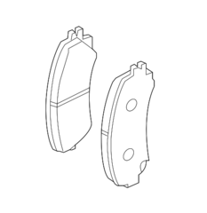Brake Pads - Infiniti (D1060-4GA0A)