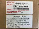 Roof Cross Bar Kit - Toyota (PT278-89170)