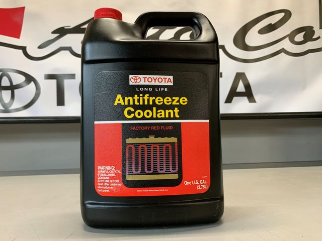 Antifreeze Red - Long Life - Toyota (00272-1LLAC-01)