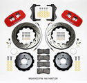 Challenger Charger 300 Front Big Brake Kit Calipers Slotted Rotors Pads Wilwood - Mopar (140-14067-R)