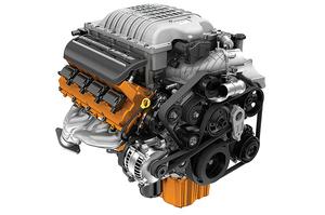 NEW IN PACKAGE GENUINE OEM MOPAR COMPLETE 6.2L HELLCAT HEMI ENGINE - Mopar (68303089AA)