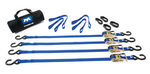 Mac's Mopar Tie Downs ATV Motorcycle Bike Trailer Ratchet Strap Kit - Mopar (MACS510001)