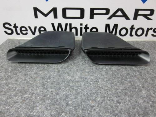 09-14 Dodge Challenger R/T SRT Hood Scoop Scoops Set of 2 Mopar Factory Oem - Mopar (SWMSCOOP)