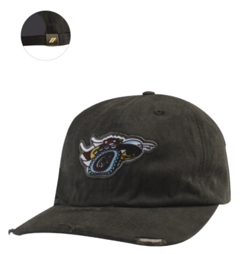 New Dodge Scat Pack Logo Cap Distressed Baseball Hat Black One Size Mopar - Mopar (127JT)