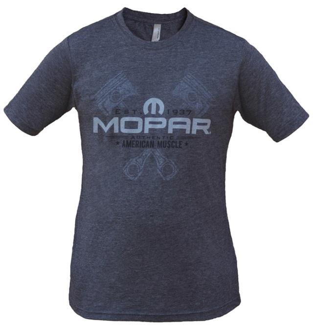 New Mopar American Muscle Piston Tee Shirt Short Sleeve Large - Mopar (A72842442L)