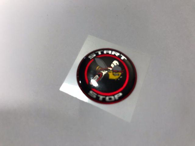Challenger Charger Journey Starter Push Start Button Decal Emblem Scat Pack - Mopar (SWMPB30)
