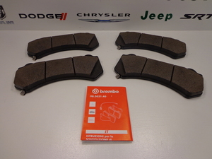 Front Disc Brake Pad Kit - Mopar (68248384AC)