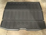 Load Compartment Mat, Molded Plastic Grey