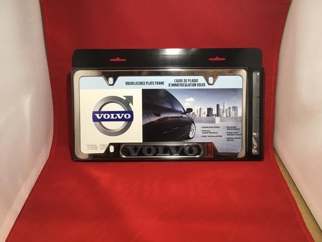 2006-2018 Volvo License Plate Frame Chrome Plated With Chrome Nuts - Volvo (8640121)