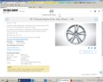 Wheel 18-Inch 5 Spoke - Silver