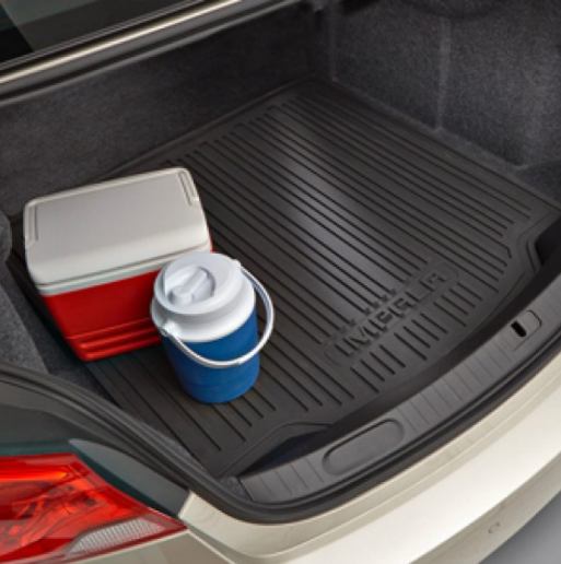 Cargo Area All-Weather Mat in Black with IMPALA Logo - GM (22995319)