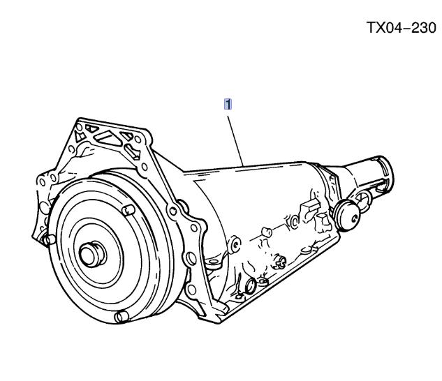 Transmission - GM (12491907)