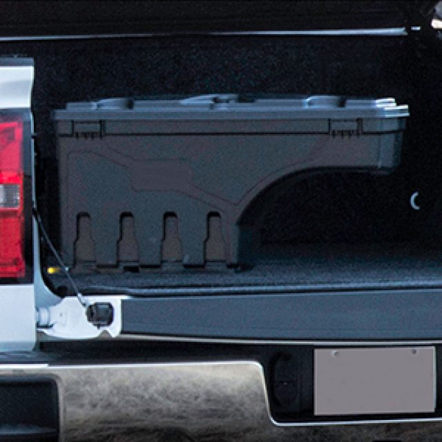 Driver Side Swing-Out Tool Box by UnderCover™ in Black - GM (19332689)