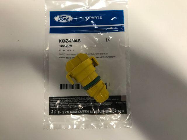 Genuine Ford Drain Plug KX6Z-6730-B