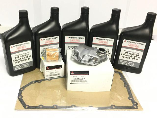 Genuine Mitsubishi CVT Fluid & Filters Kit - Mitsubishi (MZ320185WFTRS)