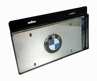 Marque Plate - Polished Stainless Steel - BMW (82-12-1-470-314)