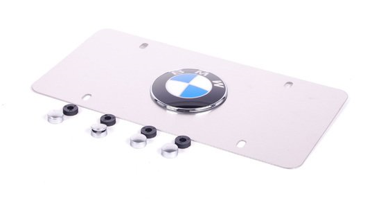 Marque Plate - Satin Stainless Steel - BMW (82-12-1-470-312)