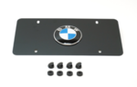 Marque Plate - Black Stainless Steel - BMW (82-12-1-470-313)