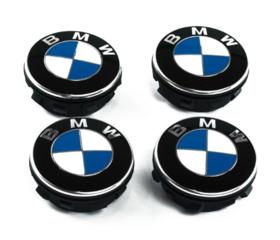 BMW Floating Center Caps - BMW (36-12-2-455-268)