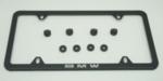 License Plate Frame, Laser Slimline - BMW (82-12-0-042-710)
