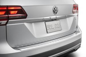 Volkswagen OEM Rear Bumper Protection Plate - Chrome for 2017 ATLAS