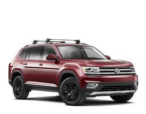 Volkswagen OEM Roof Rack / Cross Bars for 2017 ATLAS