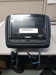 QX80 DVD HEADREST KIT BLACK LEATHER