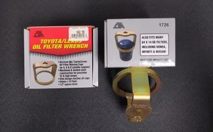 TOYOTA / LEXUS OIL FILTER WRENCH by CTA - Custom (53001-01726)