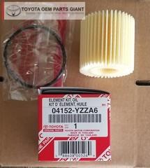 OEM Toyota Oil Filter - Toyota (04152-YZZA6)