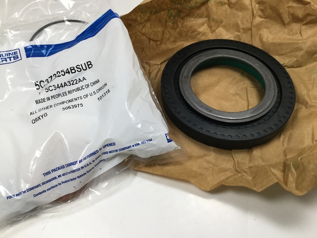 genuine oem ford axle shaft hub outer seal kit 5c3z