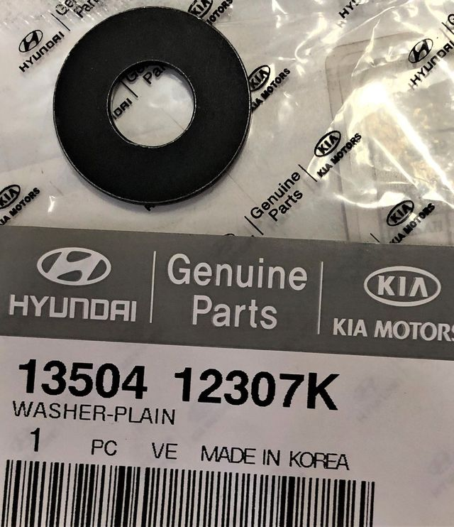 2006-2013 Kia Washer 13504-12307K Kia Parts Store Kia Wholesale ...