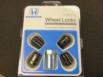 Black Wheel Lock Set - Honda (08W42-TG7-100A)