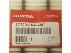 Engine air filter element  (1.5t models) - Honda (17220-5AA-A00)