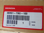 Air Deflector, Moonroof - Honda (08R01-TBG-100)