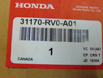 2011-2018 Honda Tensioner Assembly Auto - Honda (31170-RV0-A01)