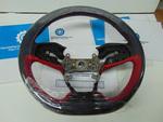 Grip *R124L* (Leather) (R-Red) - Honda (78501-TGH-A90ZA)