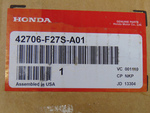 2018-2020 Honda Civic - 18 Inch Hpd Alloy Wheel (Each) - Honda (42706-F27S-A01)