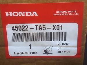 Genuine Honda Front Brake Pad set - Honda (45022-TA5-X01)