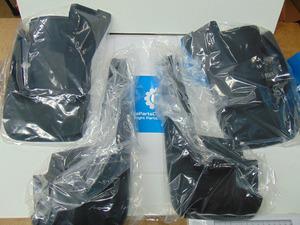 FRONT and REAR Splash guard set - Honda (08P00-SCV-100C)