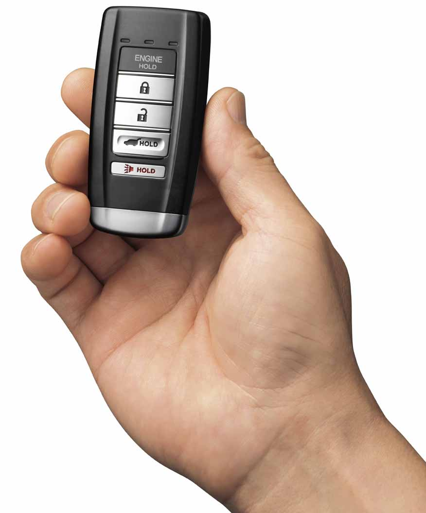 2014-2019 Acura MDX 5-DOOR 2016 Mdx Remote Start Kit