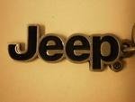 JEEP Logo Key chain - Mopar (11H96)