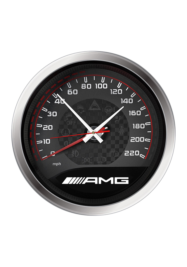 "14"" AMG Speedometer Wall Clock - Mercedes-Benz (MHH-425)"