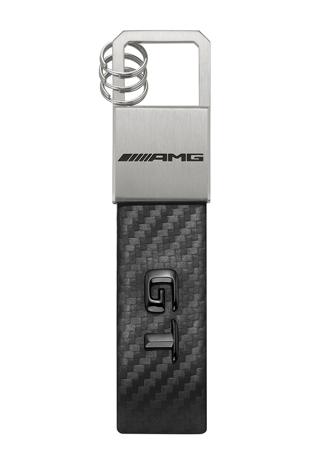 AMG GT Stainless Steel Key Ring - Mercedes-Benz (MBK-337)
