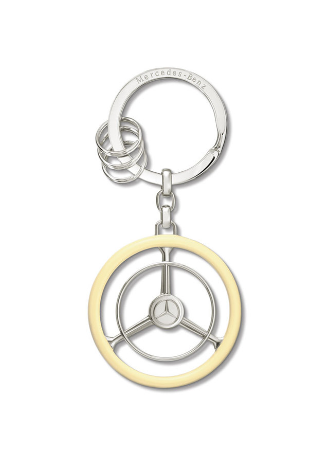 Classic Steering Wheel Key Ring - Mercedes-Benz (MBK-103)