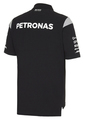 Men's Mercedes-AMG Petronas Cotton Team Polo - Mercedes-Benz (MWM-476-BK-)