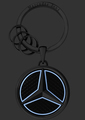 Luminous Star Key Ring - Mercedes-Benz (MBK-526)