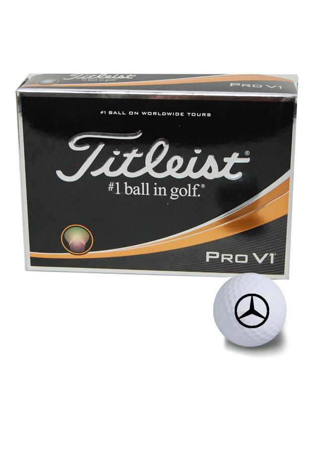 Titleist® Pro V1® Golf Balls - Mercedes-Benz (MHG-500)